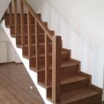 Scari interioare din lemn, placare scari, terase din lemn